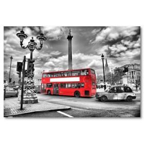 Αφίσα (μαύρο, λευκό, άσπρο, Λονδίνο, πόλη, σύννεφα)
